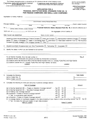 Fire Insurance Form - Fill Online, Printable, Fillable ...