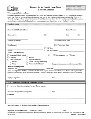 leave slip fillabe sample fcps form