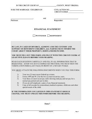 Bill of complaint for divorce virginia sample fill online financial statement form west virginia divorce solutioingenieria Images