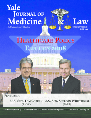 Download Issue PDF - Yale Journal of Medicine & Law