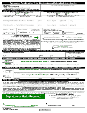 Bill Of Sale Form Massachusetts Official Mail-in Voter ...