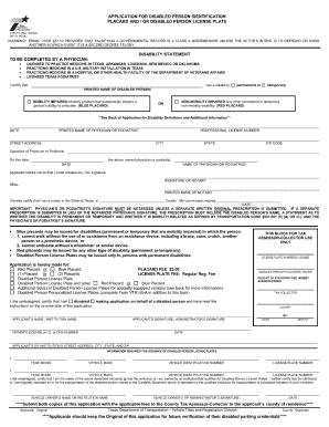 Fillable Online bcm Handicap Parking Form - bcm Fax Email Print ...