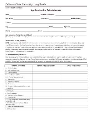 California State University application help?