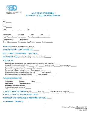 aao transfer form Aao Transfer Form - Fill Online, Printable, Fillable, Blank | PDFfiller
