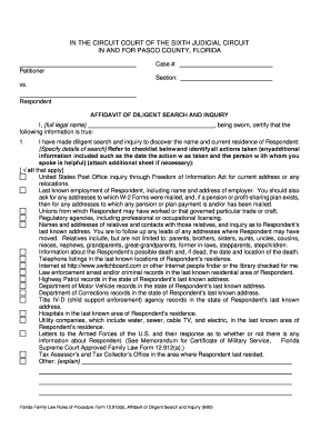 Florida Dissolution Of Marriage Forms Fillable