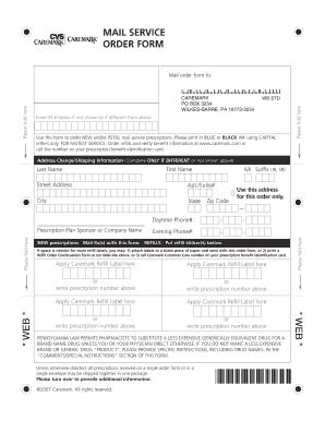 cvs health Forms and Templates - Fillable & Printable Samples for ...