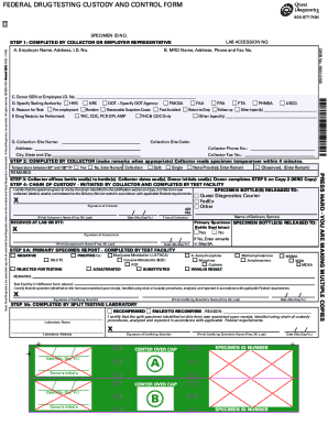 Drug Test Results Form Fill Online Printable Fillable Blank Pdffiller