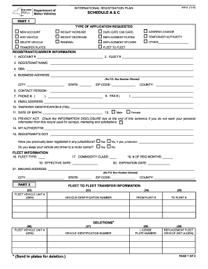 Irp6 form Fill ... Irp Plates Nj