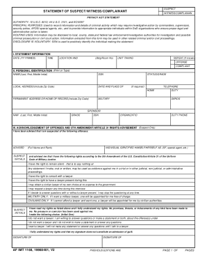 Air Force Form 1168 - Fill Online, Printable, Fillable, Blank ...