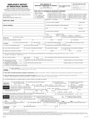 osha accident report form Templates - Fillable & Printable Samples ...
