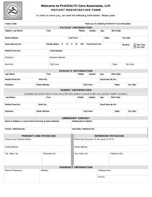 Brian Neri Prohealth New Patient Forms - Fill Online ...