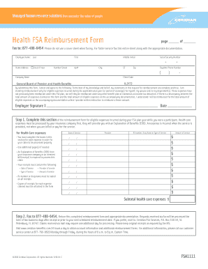 Ceridian Fsa 1111 Claim Form - Fill Online, Printable, Fillable ...
