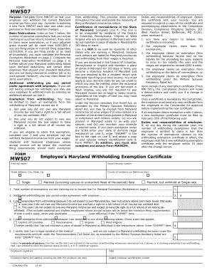 Bill Of Sale Form Maryland Form Mw 507 Templates - Fillable ...