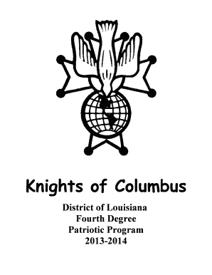 knights of columbus essay contest form Catholic citizenship essay contest the order encourages all councils and assemblies to sponsor the knights of columbus essay contest at schools in their communities the essay contest is a creative way to encourage young people to become citizens who are continue reading.