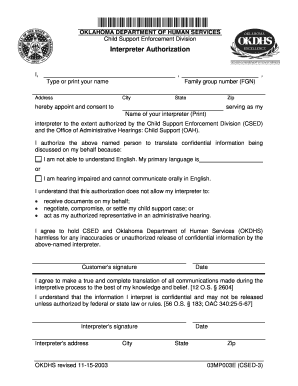 okdhs employment verification form