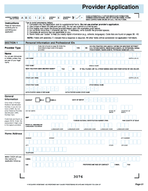 Caqh fill online printable fillable blank pdffiller for Uniform spaces pdf