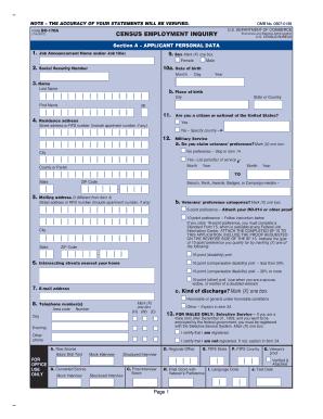 Sf 171 - Fill Online, Printable, Fillable, Blank | PDFfiller