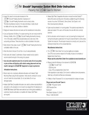 work order format doc
