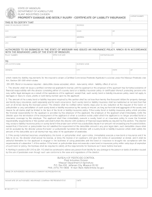 Bill Of Sale Form Missouri Separation Agreement Template ...