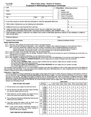 nj w4 form  Form Nj W7 - Fill Online, Printable, Fillable, Blank | PDFfiller