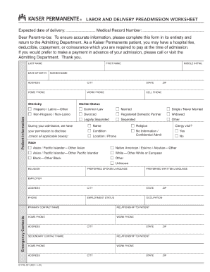 kaiser permanente doctors note template