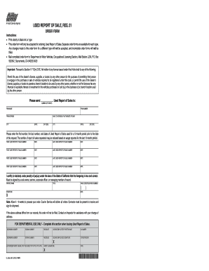8 printable report of sale form templates fillable samples in pdf