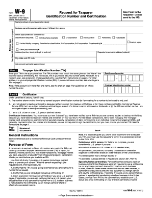 Fillable Online brhpc INFORMATION FOR COMPLETION OF W-9 FORM ...