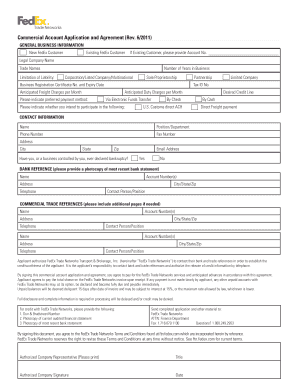 fedex commercial invoice instructions