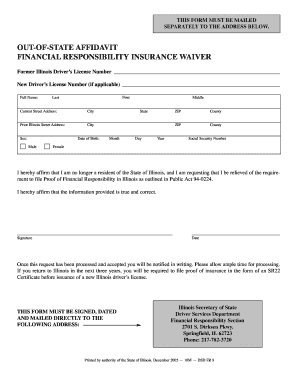 2005 Form Il Dsd Fr 9 Fill Online Printable Fillable Blank