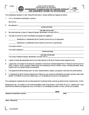 Form 309 - Fill Online, Printable, Fillable, Blank | PDFfiller