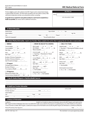 Medical Referral Form - Fill Online, Printable, Fillable, Blank ...