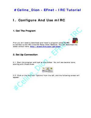 Install Irc