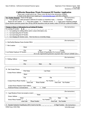 2012-2017 Form CA DTSC 1358 Fill Online, Printable, Fillable ...