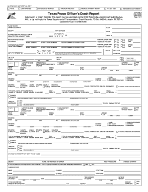 Fillable Cr 3 Crash Report - Fill Online, Printable, Fillable ...