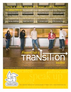 A free tool for developing a youth-driven transition plan with a team ... - centerforchildwelfare fmhi usf