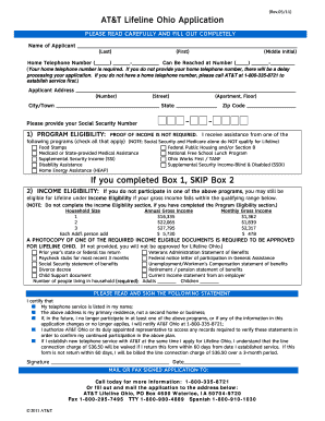 Lifeline Of Ohio - Fill Online, Printable, Fillable, Blank | PDFfiller