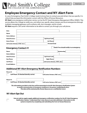 Fillable Employee Contact Form - Fill Online, Printable, Fillable ...