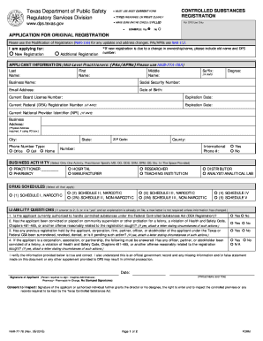 Texas Dps Form 77 78 - Fill Online, Printable, Fillable, Blank ...