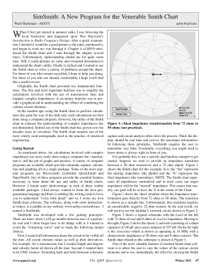 36 Printable The Complete Smith Chart Forms And Templates
