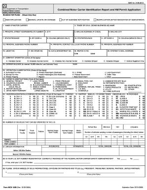 Texas motor carrier division for Motor carrier identification report mcs 150