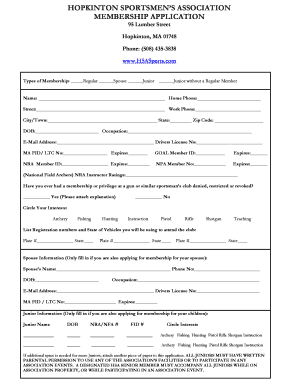 Sample volunteer recruitment letter forms and templates fillable hopkinton sportsmens association form altavistaventures Gallery
