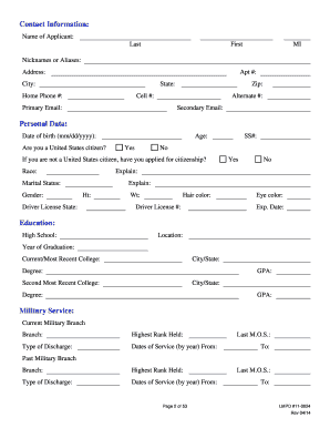 louisville lmpd polygraph pamphlet form