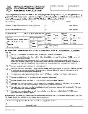 5716229 Oklahoma Concealed Carry Application Form To Print Out on