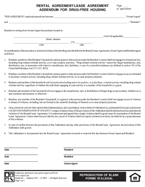Free rental lease agreement pdf