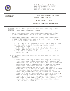 Pensacola Prison Inmate Search - Fill Online, Printable, Fillable ...