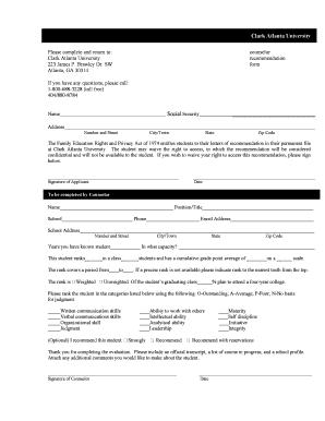 Clark atlanta university admissions essay