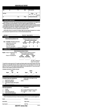Illinois Drivers License Eye Exam Form - Fill Online, Printable ...