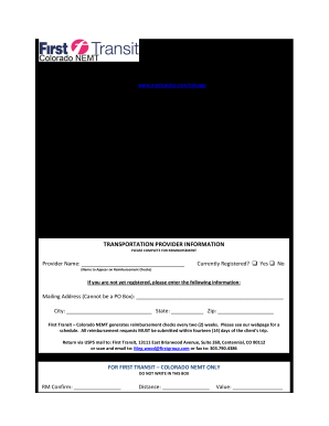colorado medicaid travel reimbursement form