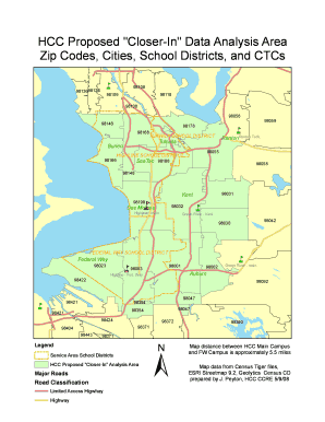 tukwila zip code map Hcc Tukwila Fill Online Printable Fillable Blank Pdffiller