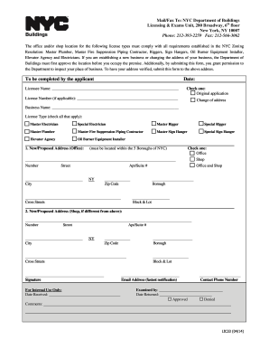 2014 Form Ny Lic33 Fill Online Printable Fillable Blank